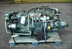 Perkins Turbo Horizontal Marine Diesel Engine With Gearbox 6354.2